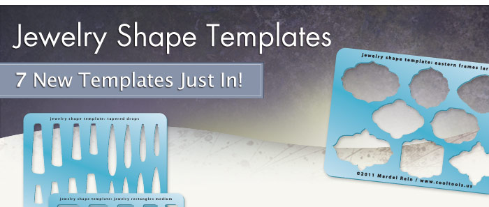 cool tools new jewelry shape templates