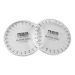 AlphaDisc Set - 1 Numbers Disc, 1 Letters Disc