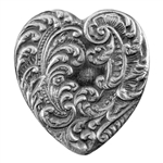 Antique Mold - Victorian Heart