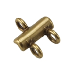 Bronze Plate Connector - 2-Strand 10mm x 9mm Pkg - 2