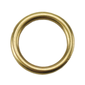 Bronze Plate Jump Ring - Round 10.5mm