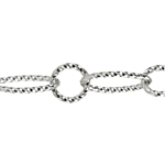 Silver Plate Chain - Open Twist 6.15mm