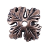 Copper Plate Bead Cap - Leaf