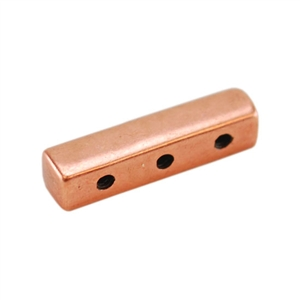 Copper Plate End Bar - Triple Strand