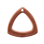 Copper Plate Charm - Trillion Triangle
