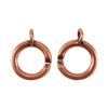 Copper Plate Clasp - Slip Lock Large