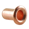"Copper Plate Eyelet Rivet - 5/32"" Pkg - 24"