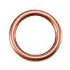 Copper Plate Jump Ring - Round 10.5mm