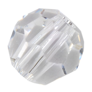 Crystal White - Round 4mm Pkg - 12