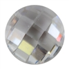 CZ: White Diamond - Round - Checkerboard 5mm Pkg - 1