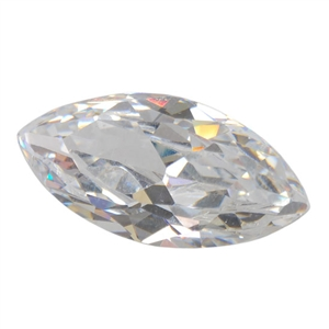 Cubic Zirconia - White Diamond - Marquise