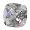CZ: White Diamond - Cushion 8mm Pkg - 1