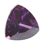 CZ: Trillion 4x4mm Amethyst