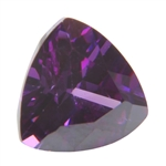 CZ: Trillion 6x6mm Amethyst