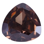 CZ: Trillion 4x4mm Smoked Topaz Pkg - 4