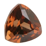CZ: Trillion 6x6mm Smoked Topaz Pkg - 2