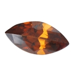 CZ: Smoked Topaz - Marquise 2mm x 4mm