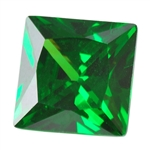 CZ: Columbian Emerald - Square 8mm