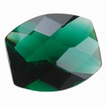CZ: Columbian Emerald - Barrel - Checkerboard 8mm x 10mm