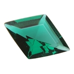 CZ: Columbian Emerald - Diamond 9mm x 13mm Pkg - 1