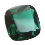 CZ: Columbian Emerald - Cushion 14mm
