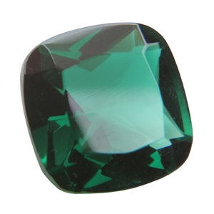 CZ: Columbian Emerald - Cushion 14mm Pkg - 1