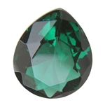 CZ: Columbian Emerald - Pear 12mm x 14mm