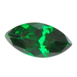CZ: Columbian Emerald - Marquise 3mm x 6mm