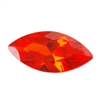 CZ: Fire Opal - Marquise 3mm x 6mm