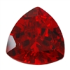 CZ: Hessonite Garnet - Trillion 8mm