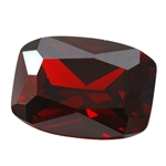CZ: Hessonite Garnet - Barrel 11mm x 15mm