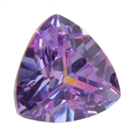CZ: Trillion 6x6mm Lavender Pkg - 2