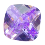 CZ: Lavender - Cushion - Checkerboard 4mm Pkg - 4