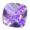 CZ: Lavender - Cushion - Checkerboard 6mm Pkg - 2