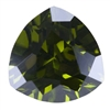 CZ: Trillion 8x8mm Olivine Pkg - 1
