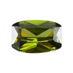 CZ: Olivine - Barrel 4mm x 6mm Pkg - 4
