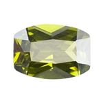CZ: Olivine - Barrel 6mm x 8mm Pkg - 2