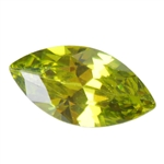 CZ: Olivine - Marquise 2mm x 4mm