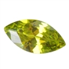 CZ: Olivine - Marquise 3mm x 6mm Pkg - 10