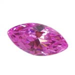 CZ: Pink Sapphire - Marquise 3mm x 6mm Pkg - 10