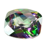 CZ: Alexandrite - Barrel - Checkerboard 8mm x 10mm