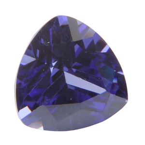 CZ: Trillion 6x6mm Tanzanite Pkg - 2