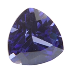 CZ: Trillion 5x5mm Tanzanite Pkg - 4