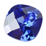 CZ: Tanzanite - Cushion - Checkerboard 8mm Pkg - 1