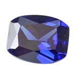 CZ: Tanzanite - Barrel 6mm x 8mm Pkg - 2