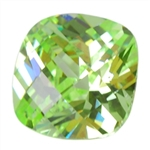 CZ: Green Apple - Cushion - Checkerboard 14mm