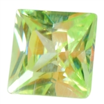 CZ: Green Apple - Square 4mm
