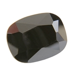 Cubic Zirconia - Jet Black - Barrel 11mm x 15mm Pkg - 1