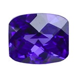 CZ: Dark Amethyst - Barrel - Checkerboard 8mm x 10mm