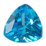 CZ: Blue Topaz - Trillion 6mm